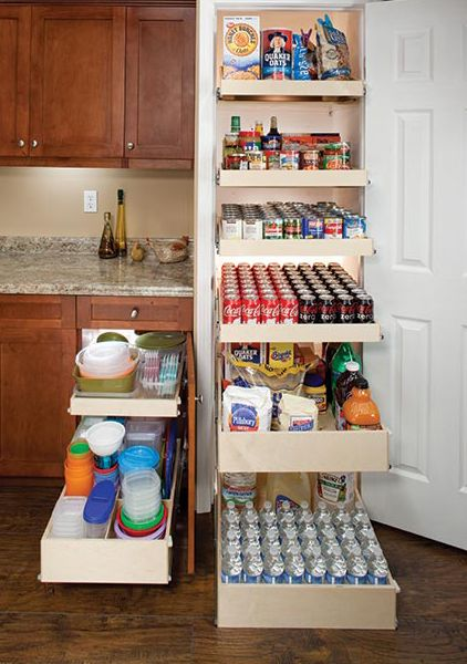 Each Sliding Shelf Holds Up To 100 Lbs Heavy Items No