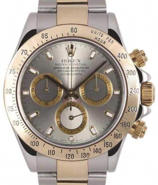 5ef515d496d Rolex Daytona 116523 Stainless Steel   18K Yellow Gold 40mm Mens Watch   MensFashionSmart