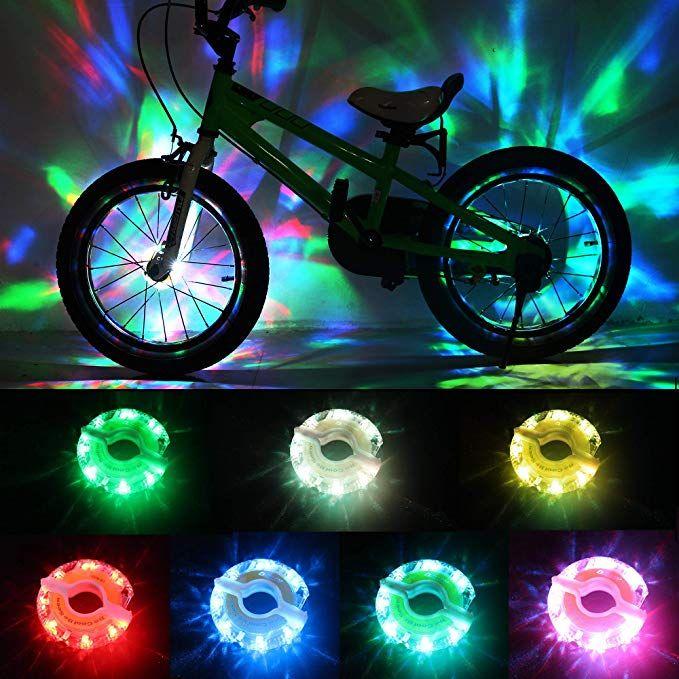 Daway Rechargeable Bike Wheel Lights A16 Cool Led Kids Bicycle