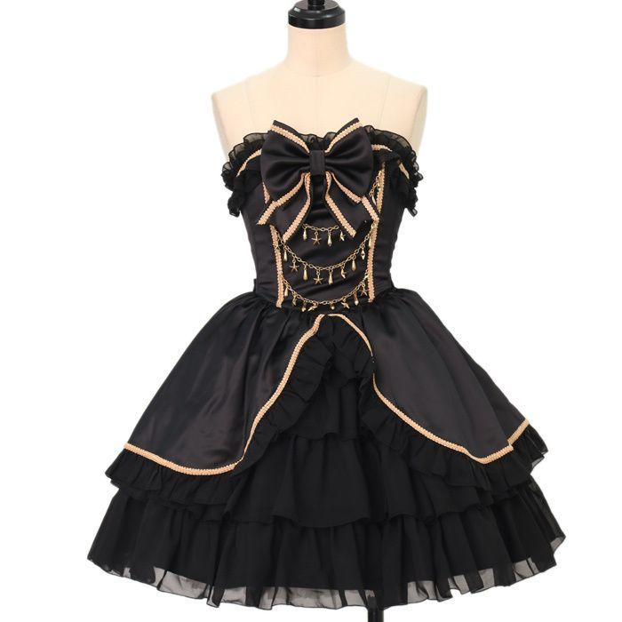 Worldwide shipping available ♪ Magical Holic ☆ ·. . · ° ☆ Twinkle Chandelier Corset Dress  https://www.wunderwelt.jp/products/w-17216  IOS application ☆ Alice Holic ☆ release Japanese: https://aliceholic.com/ English: http://en.aliceholic.com/