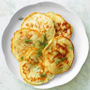 'Pancake Tuesday' Dinner Tonight! -Dill Pancakes with Country Ham and Cheese ...    These are delish - and deceivingly filling with the ham and cheese inside. We topped it with a dill sour cream mixture that was also delish.