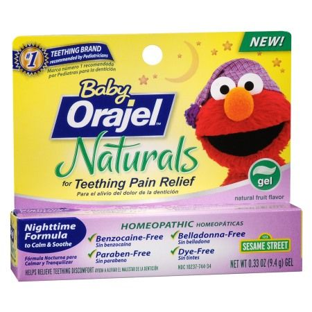 we tried a freesample of baby orajel naturals nighttime teething gel it was awesome