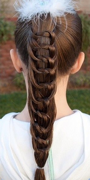 Wrapped High Ponytail