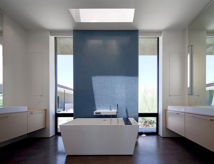 Image from http://dellacooks.com/wp-content/uploads/2015/06/double-hanging-vanities-design-and-modern-bathroom-skylight-over-stand-alone-bathtub-ideas-1024x789.jpg.