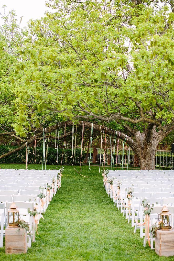 Beautiful Garden Wedding Ideas: Beautiful And Romantic Spring Garden Wedding Ceremony