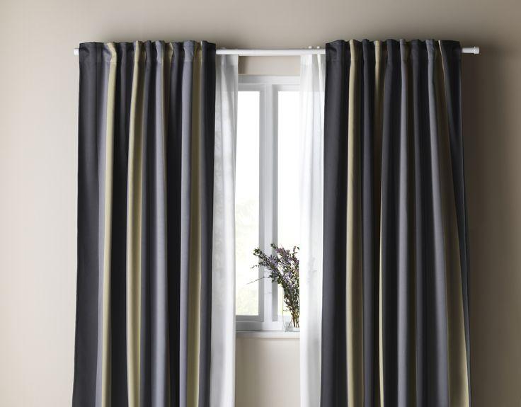 Ikea Verduisterend Gordijn : Kant en klaar gordijn verduisterend ikea ikea raamdecoratie op
