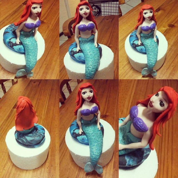 A little mermaid character