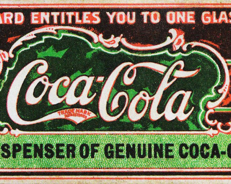 "Coca-Cola"" was suggested by Pemberton's A bookkeeper, Frank Robinson, stemming from the two key ingredients: extracts from the coca leaf and kola nut. Robinson was also the one to first pen the now classic cursive ""Coca-Cola"" logo."
