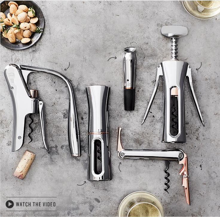 Williams Sonoma Wine Tools, Designed by Phil Rose