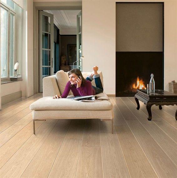 Quickstep Largo White Varnished Oak LPU1283 Laminate Flooring - what we originally chose