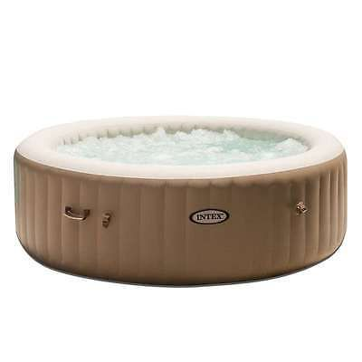 Intex Inflatable Pure Spa 6-Person Portable Heated Bubble Jet Hot Tub