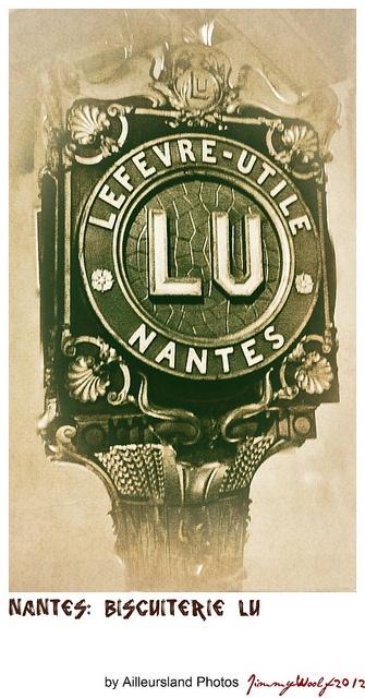 Nantes: Biscuiterie LU