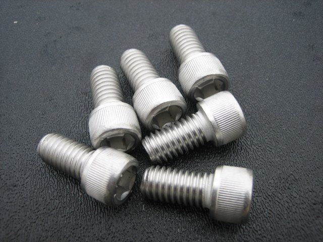 3 8 16 X 1 Stainless Socket Head Cap Screws 12 Sockets Stainless Cap