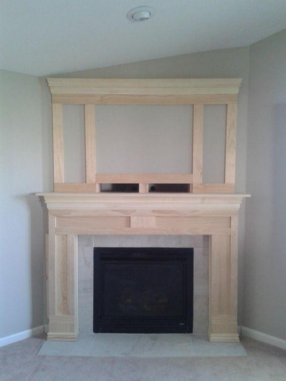 DIY Fireplace Makeover   diyaffair