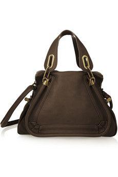 Chlo¨¦ Paraty medium leather shoulder bag | NET-A-PORTER | What\u0026#39;s ...