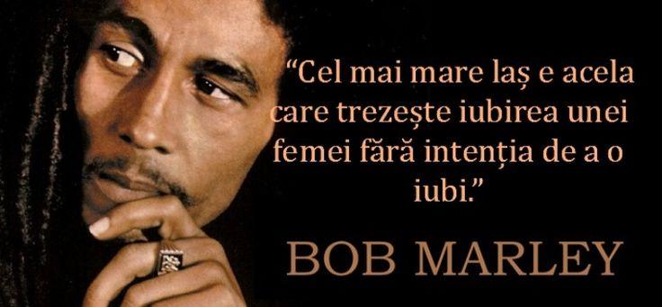 10 citate de Bob Marley despre dragoste si femei