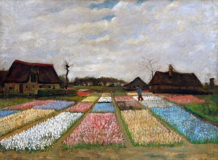Vincent van Gogh  Campi di Tulipani in Olanda  1883 -