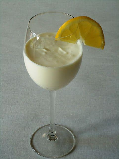 Uit Pauline 's keuken - frisse citroenbavarois