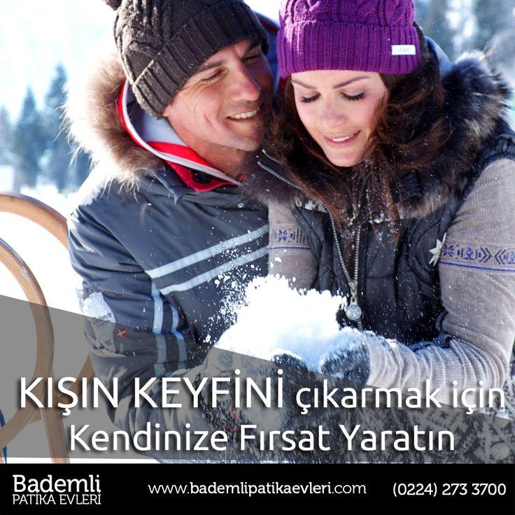 Kışın keyfini evinizin bahçesinde çıkarmak için kendinize fırsat yaratın! #kış #keyif #bademli #bursa #fırsat #ev #villa #kar