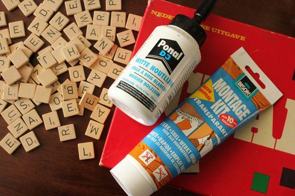 Please do visit my blog and leave a comment - www.prisje.nl - Scrabble, letter, letters, onderzetter, coaster, coasters, onderzetters, diy, crafts, craft, do it yourself, knutselen -