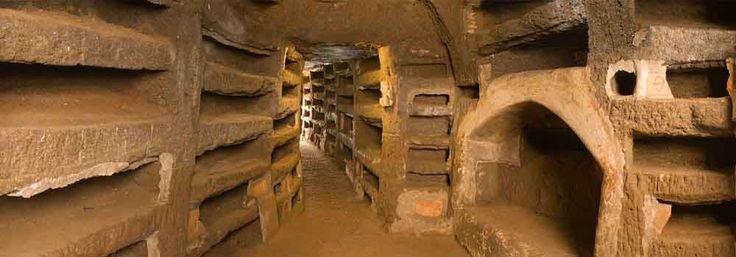 A - Early Christian Catacomb of S. Priscilla. Roma
