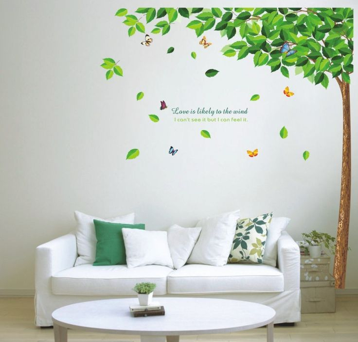 Cheap decorating frame ideas, Buy Quality frame candle directly from China frame word Suppliers: 2016 Green tree Butterfly Photo Wall Sticker Wall Decal Poster Photo Picture Frame Base Art DIY Home Decor better than Wooden