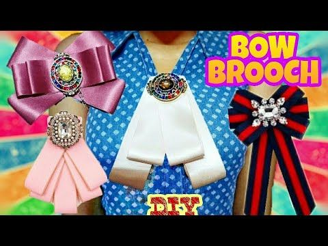 MOÑOS VICTORIANOS| BOW BROCH | CORBATINES | MOÑOS BOWTIE | ANNYRICH3 - YouTube