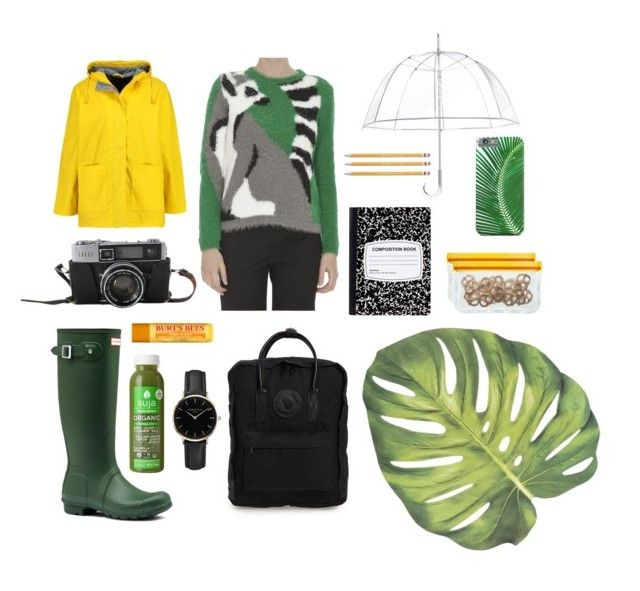 """""""ZOO trip outfit"""" by koczuba-anna on Polyvore featuring MaxMara, Hunter, Fjällräven, Boohoo, Totes, BlueAvocado, ROSEFIELD, Burt's Bees and Paper Mate"""