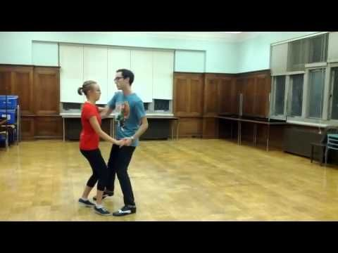 Lindy Hop - Basic Step & Lindy Circle - YouTube