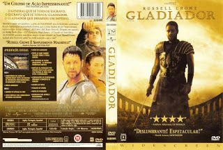 Capa DVD Gladiador ~ Gamecover | Baixar de capas DVD e Bluray