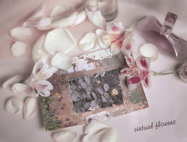 angeloarte: Virtual flowers