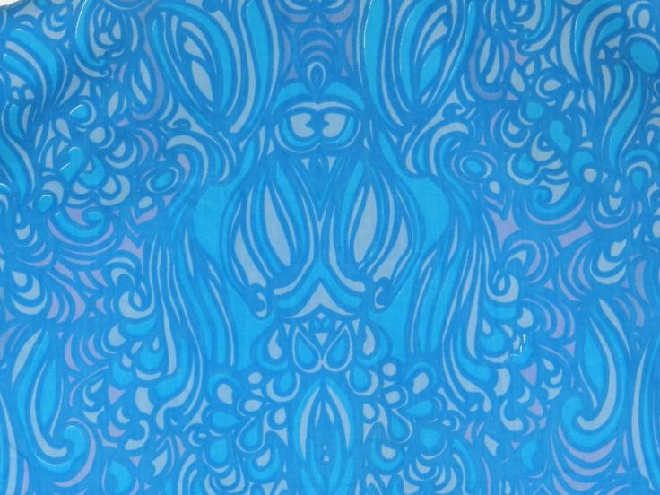 Vintage Finnish fabric by Marjatta Metsovaara