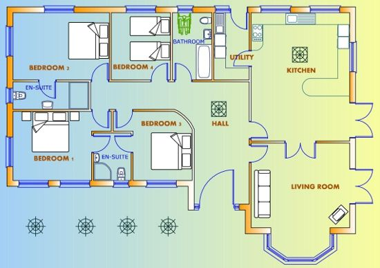 Floor plan casa pinterest house plans uk house for Fantasy house plans