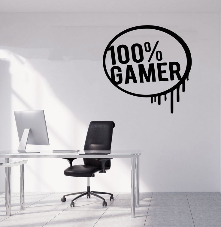 Gamer Wall Decal Gamer Decals Controller Decals Personalized Gamer Room 3082