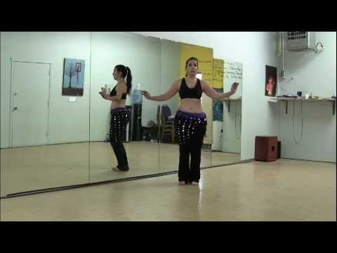 A Belly Dance Drill for Hip Downs (Intermediate)