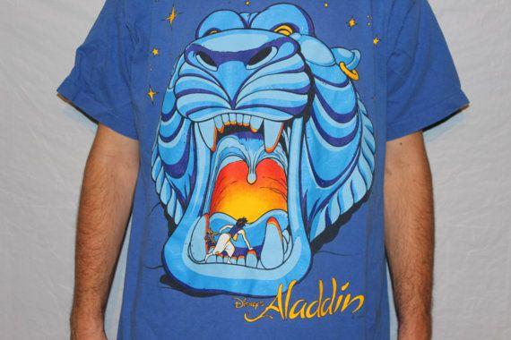 Vintage Disney S Aladdin Cave Of Wonders T Shirt Disney
