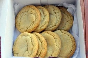 Chewy Lemon Honey Cookies