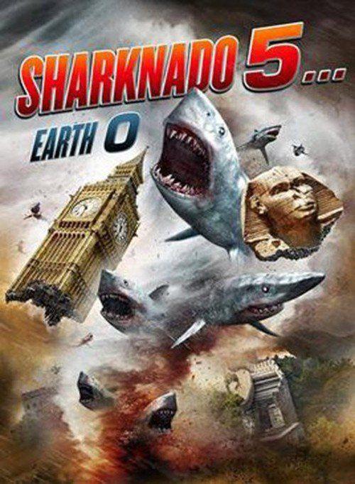 Sharknado 5… Earth 0 (2017) Full Movie Streaming HD