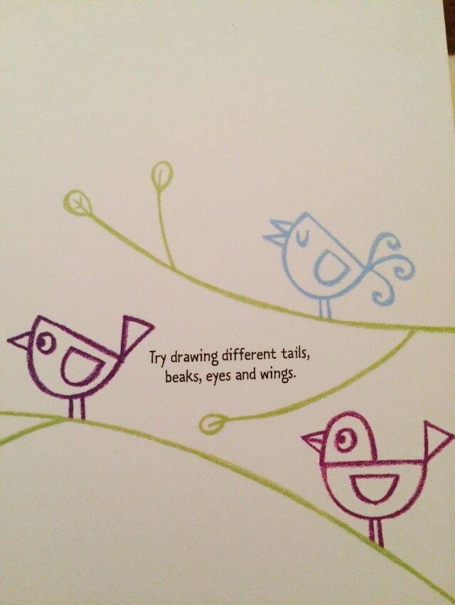 How to draw birds #raisasbooks
