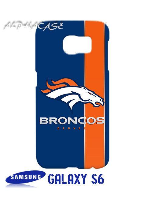Denver Broncos Inspired Samsung Galaxy S6 Case Hardshell