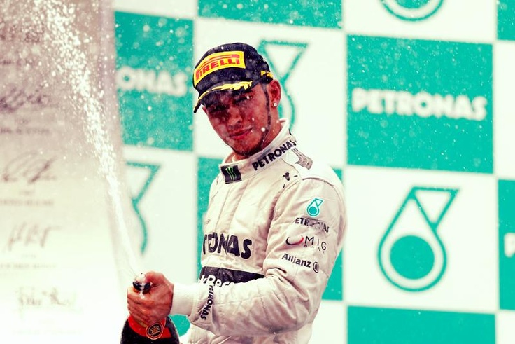 For Lewis Hamilton, the Grand Prix of Malaysia is the 50th overall podium in Formula 1 and his first for the team MERCEDES AMG PETRONAS.