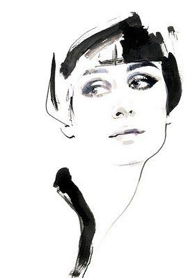 David Downton, fashion illustrator extraordinaire