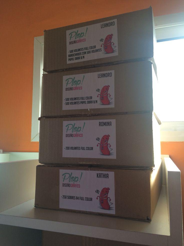 PLOP • Membrete para cajas