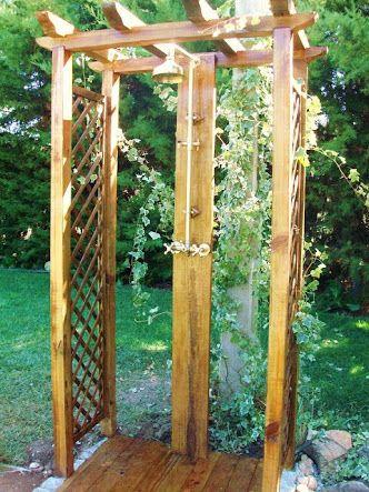 Resultado de imagem para chuveiro jardim