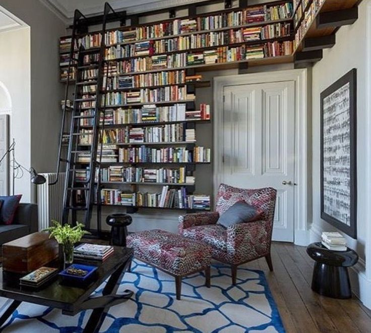 Now that's one INTENSE personal library! http://writersrelief.com/