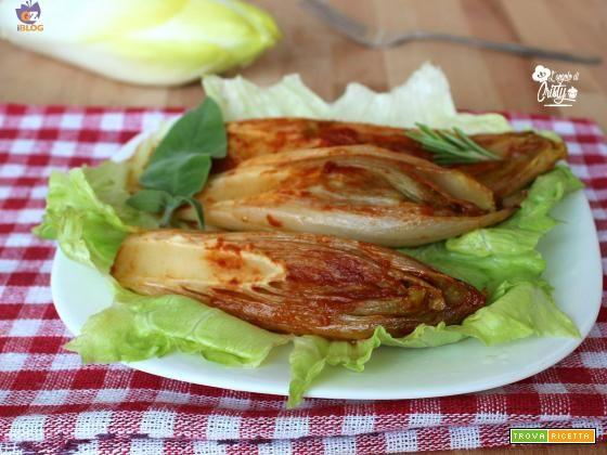 INDIVIA IN PADELLA  #ricette #food #recipes