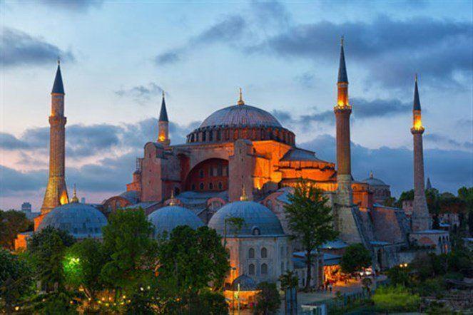 ايا صوفيا امكان سياحية في اسنطبول تركيا Hagia Sophia Istanbul Geziler