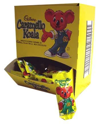 Australia day 26/1- caramello koalas- think freddie frogs!