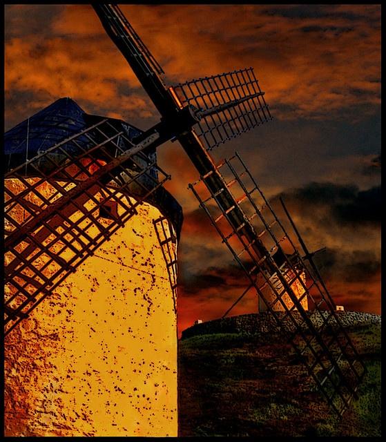 La Mancha orange
