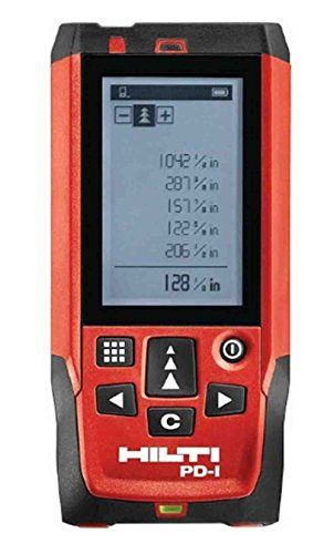 Lazar measuring tool, wall to wall distance. I don't need but would be great to have my own for work. I like this brand, feels good and quality is good.  Need to research the one with the best/longest range distance wise. Red & black.   Hilti PD-I Laser Range Meter With Red Glasses – Laser Distance Measure – Max. 100 m – Ship by FedEx http://www.handtoolskit.com/hilti-pd-i-laser-range-meter-with-red-glasses-laser-distance-measure-max-100-m-ship-by-fedex/